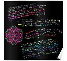 Everglow Coldplay Lyrics Poster