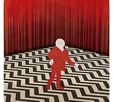 Twin Peaks Red Room by RedHillPrints