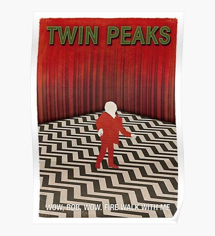 Twin Peaks Red Room Poster
