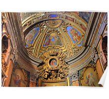 Oratorio di S. Francesco Saverio, Rome Italy Poster
