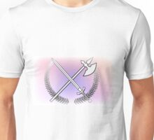 Pastel Sword And Arrow Unisex T-Shirt