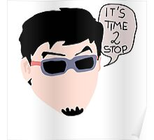 Filthy Frank- Time to Stop Decal Poster