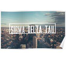Sigma Delta Tau - City Poster