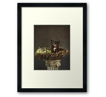 Basket Full of Love Framed Print