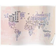 Hello in the languages of the world Poster