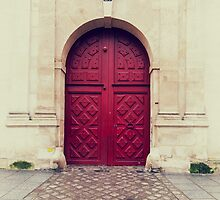 Parisian Door by Kevin Hayden Paris