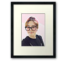 cute jiminie v1 Framed Print