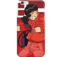 Kaneda from Akira and his motorbike iPhone Case/Skin