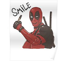 Smile! DeadPool - Merc with a mouth Poster