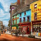 City - Newry Ireland - The charm of a city 1902 by Mike  Savad