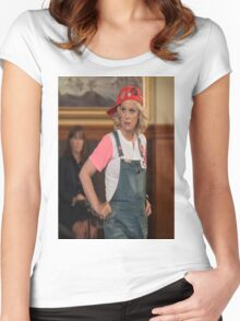 leslie knope Women's Fitted Scoop T-Shirt