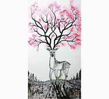 Cherry Blossom Deer Unisex T-Shirt