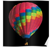 Hot Air Balloon Coldplay Poster