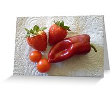 Bumper Crop! Greeting Card