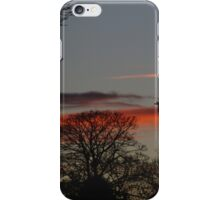 Streetlight At Sunset iPhone Case/Skin