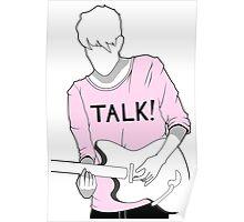 Adam Hann - TALK! Poster