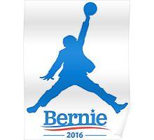 Air Bernie Sanders 2016 - Blue Poster