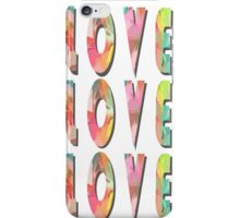 Love Love Love iPhone Case/Skin