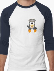 musseduch penguin Men's Baseball ¾ T-Shirt