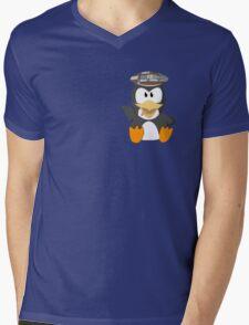 musseduch penguin Mens V-Neck T-Shirt