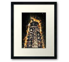 Doctor Who - Exploding Dalek Framed Print