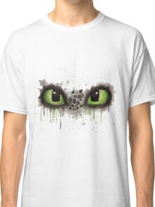 Toothless' eyes in watercolour Classic T-Shirt