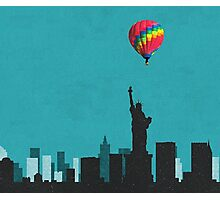 Coldplay New York Duvet Photographic Print