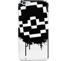 Pokeball Spray paint iPhone Case/Skin