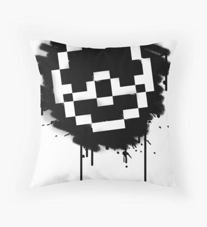 Pokeball Spray paint Throw Pillow