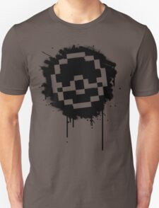 Pokeball Spray paint T-Shirt