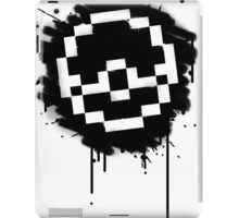 Pokeball Spray paint iPad Case/Skin