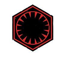 Star Wars Empire Symbol Worn Photographic Print