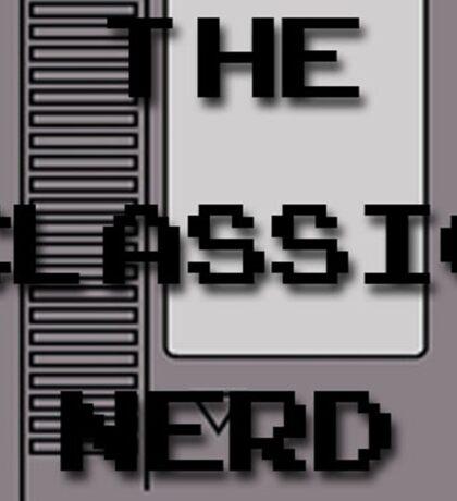 The Classic Nerd Logo Sticker