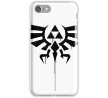 Legend of Zelda Triforce Splatter iPhone Case/Skin