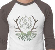 La Dispute Antlers - Earthtones Men's Baseball ¾ T-Shirt