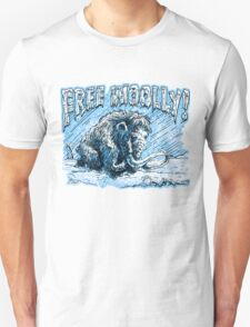 Woolly Mammoth Perseveres Free Woolly Unisex T-Shirt