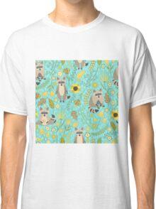 Cute raccoons Classic T-Shirt