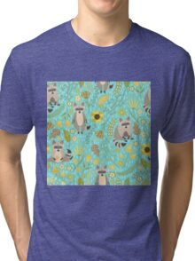 Cute raccoons Tri-blend T-Shirt