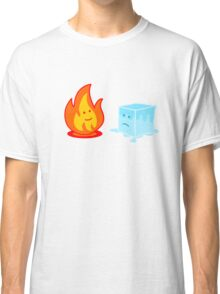 Flame and Ice Classic T-Shirt
