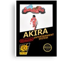 Akira Nintendo NES Canvas Print