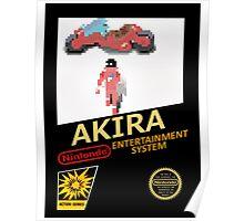 Akira Nintendo NES Poster