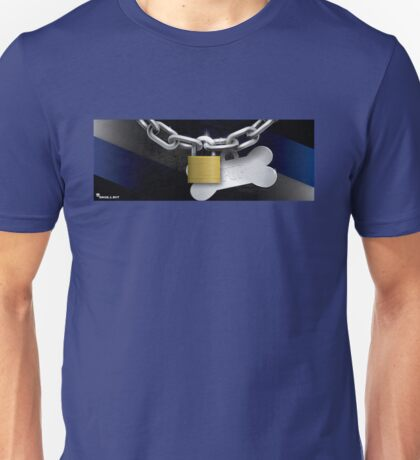 Collared Up Pup! Unisex T-Shirt