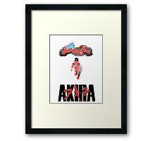 Akira 8-bit Framed Print