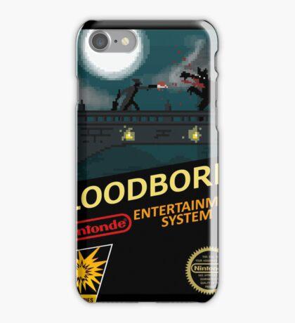 Bloodborne NES nintendo iPhone Case/Skin