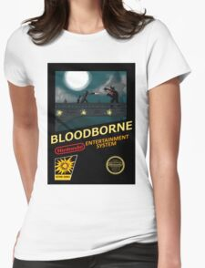 Bloodborne NES nintendo Womens Fitted T-Shirt