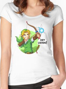 Zelda Fairy Bow  Women's Fitted Scoop T-Shirt