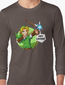 Zelda Fairy Bow  Long Sleeve T-Shirt