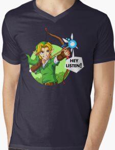 Zelda Fairy Bow  Mens V-Neck T-Shirt