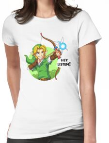 Zelda Fairy Bow  Womens Fitted T-Shirt