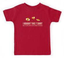 Cute Funny Bees T Shirt Kids Tee